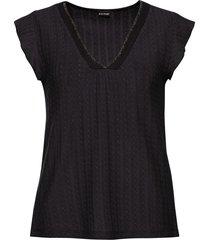 maglia traforata (nero) - bodyflirt