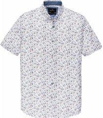 vanguard overhemd kortemouw wit vsis202224/7003 - maat m - maat m - maat m - maat m