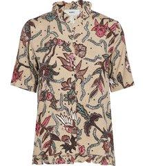 kesa blouses short-sleeved multi/mönstrad moves
