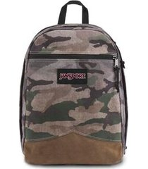 mochila jansport freedom canvas surplus camo