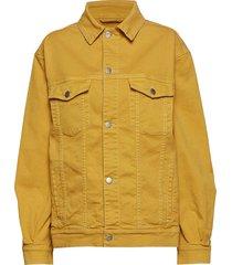 cornelia jacket jeansjacka denimjacka gul holzweiler