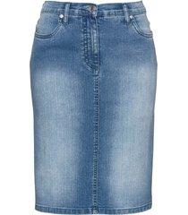 gonna di jeans con bande glitterate (blu) - bpc selection