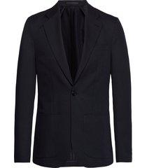 m. dean drapey linen jacket blazer kavaj blå filippa k