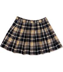 full circle trends plus trendy plaid mini skirt