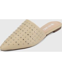 slipper beige via uno