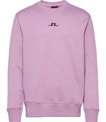 hurl bridge-jljl sweat sweat-shirt trui roze j. lindeberg