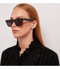 saint laurent women's sulpice acetate sunglasses - black