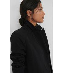 trendyol pocket detail blazer - black