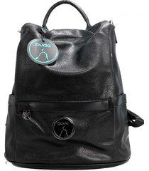 mochila negra buda