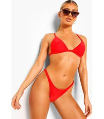 mix & match kleine bikini top, red