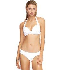 jets by jessika allen sweetheart moulded bikini white