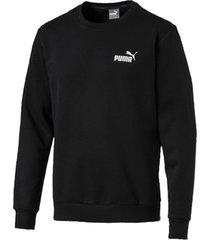 sweater puma ess logo crew sweat fl