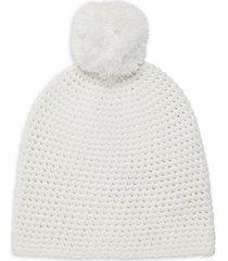 knit pom-pom beanie
