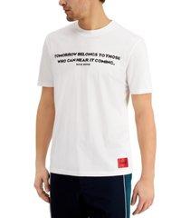 hugo men's tomorrow graphic t-shirt