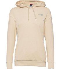 w pud hoodie hoodie trui beige the north face