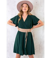 florence jurk smaragd