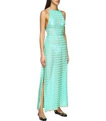 missoni mare tunic missoni mare long dress with american neckline