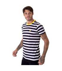 camiseta operarock t-shirt marinho