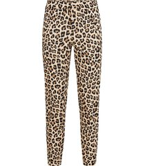 byxor vmvictoria mr antifit print ankle pant