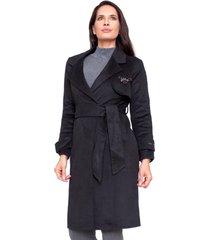 abrigo francine negro le civette