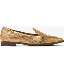 loafer guldfärgad