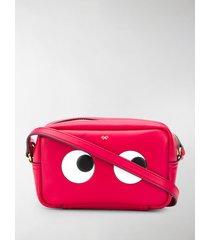 anya hindmarch mini eyes crossbody bag