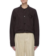 front button chest pocket jacket