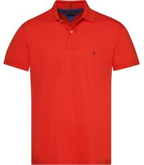 polo tommy regular fit coral tommy hilfiger