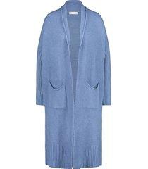 vest in shape blauw
