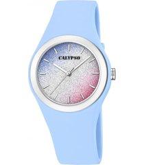 reloj k5754/4 multicolor calypso mujer trendy
