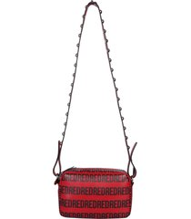 red valentino metal dot shoulder bag