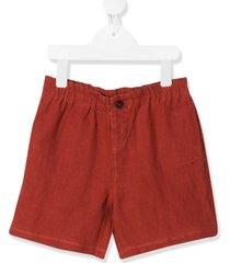 caramel barbican bermuda shorts - red