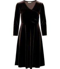 cia kort klänning svart jumperfabriken