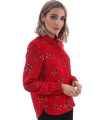 vero moda womens parisan midi shirt size 8 in other