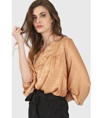 blusa camel vindaloo velvet