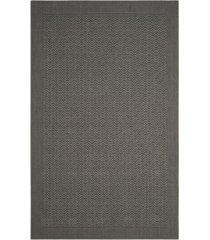 safavieh palm beach ash 5' x 8' sisal weave area rug