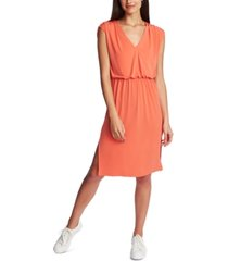 1.state cinched v-neck dress