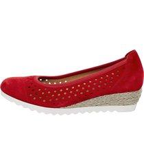 skor gabor röd
