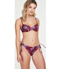 hunkemöller rio-bikiniunderdeltropic glam röd