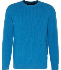 'continental' rib knit cashmere sweater