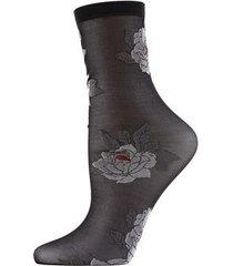 natori clair de lune sheer socks, women's