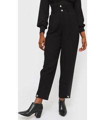 pantalón colcci negro - calce holgado