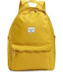 herschel supply co. nova mid volume backpack - yellow