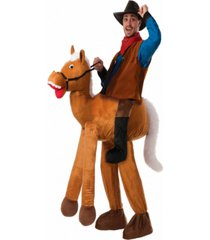 buy seasons men's ride a horse pull-on pants costume