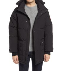 canada goose emory 625 fill power down parka, size large in black at nordstrom