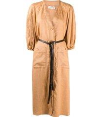 zimmermann lovestruck day dress - neutrals