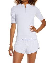 women's zella half zip bike t-shirt