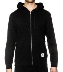calvin klein monogram full zip hoodie * gratis verzending * * actie *