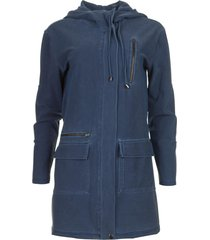 travelwear vest thyme  blauw