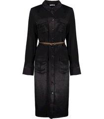 dress with ceintuur